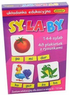 Adamigo - Sylaby - układanka edukacyjna