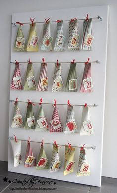 Adventskalender on Pinterest | Advent Calendar, Advent and Basteln