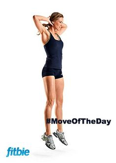 #MoveOfTheDay: Iso-Explosive Body-Weight Jump Squat, works #calves, #quads, and #core | Fitbie.com