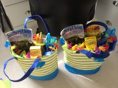 "Last day of school teacher gifts - a ""Happy Summer"" bag to enjoy!"