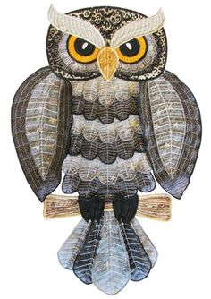 organza owl