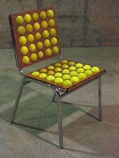another tennis ball chair