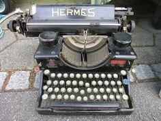 computers, hermes, social media, herm typewrit, vintage typewriters