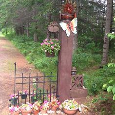 My driveway entrance