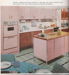 Very pink kitchen