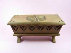 Vintage French Bread box