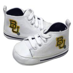 Creative Knitwear #Baylor University Infant Sport Shoes - $24 // so stinkin' cute!