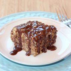 Gluten Free Chocolate Hazelnut Crumb Cake