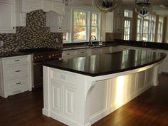 contrast wood top