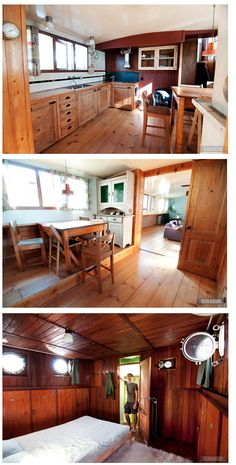 Going to Amsterdam? This houseboat is an awesome rental and it's HUGE.