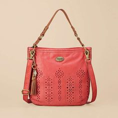 Fossil Campbell Hobo in Dusty Rose