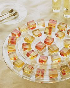 Wine Jello Shots; because real women are classy when they are being trashy. :)