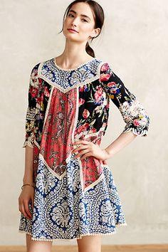 #Inez #Swing #Dress #Anthropologie