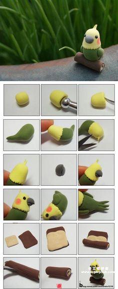 Cute Bird Picture Tutorial