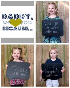 Crafting in the Rain: Father's Day Pictures