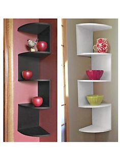 Corner Shelf - make the most of every square inch!