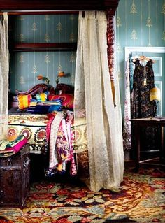 Vibrant Boho Bedroom Ideas : Cute and Unique Boho Bedroom Ideas – Better Home and Garden