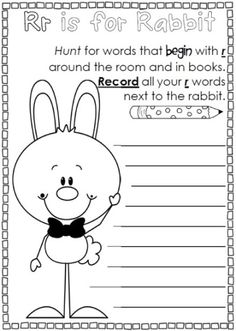 Easter worksheets for K-1. This resource is full of printer friendly worksheets that are ready to go for Easter this year.$