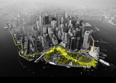 BIG awarded $335 million to improve Lower Manhattan storm defences.