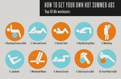 ab exercises #fitness