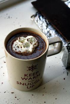 #SaltedCaramel Vodka Hot Chocolate: Like a hot cocktail.