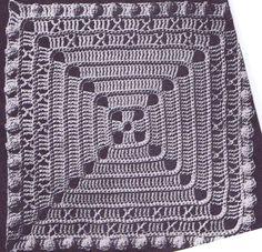 Vintage Crochet PATTERN for Bedspread 6026 Square by BlondiesSpot, $2.99