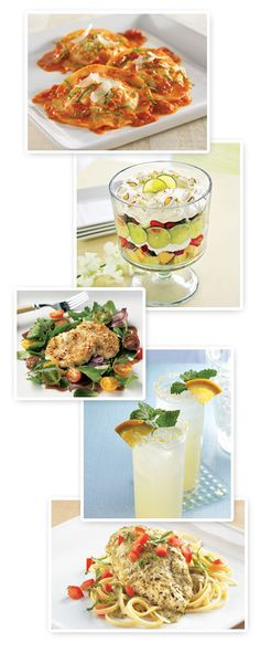 The Pampered Chef, Ltd. - Recipes