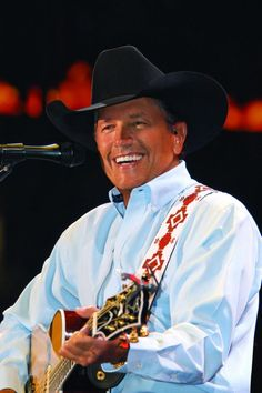 King Of Country George Strait Soon To Saddle Up For The Cowboy Rides Away Tour I can't wait to go see him!!