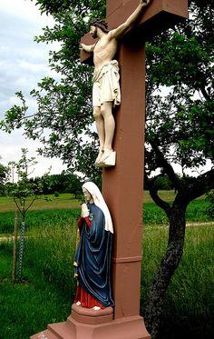 Wayside Shrine near Karlsruhe, Baden-Württemberg, Germany