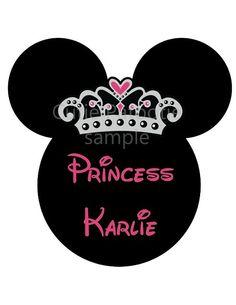 Minnie Mouse Princess Birthday T Shirt or Onesie