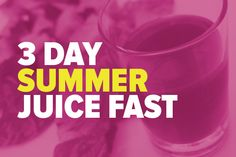 I am leading a 3 DAY SUMMER JUICE FAST this weekend, July 19th-21st. This is a free online event. But, all of the recipes and instructions will stay on this post, so you can participate at your leisure. I juice fast one day a week, and for 3 days at the beginning of every season. This is gentle, fun, and delicious way to detox and reboot.