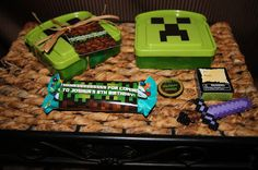 "I Lift Heavy Things: Minecraft Party Goodie ""bags"""