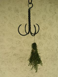 Black Iron Herb Drying Hanger ~ Early American Decorating ~ Fine Country Living Primitives