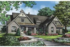 Like the craftsman style homes