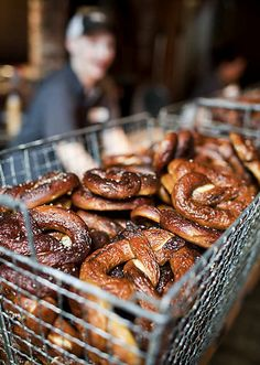 Pretzels at Brave Horse Tavern (Seattle, WA). #UniqueEats #pretzels