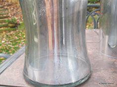 A Stylish Interior: Holiday Mercury Glass Tutorial