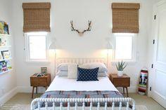book ledges, spindle bed