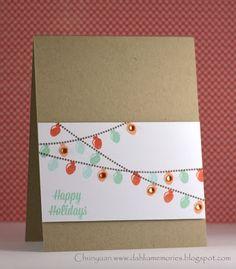 Chunyuan Wu for www.averyelle.com using Warm Wishes stamp set.