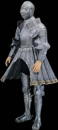 c. 1515: a young Henry VIII's jousting armor with intertwined Hs and Ks, Tower of London