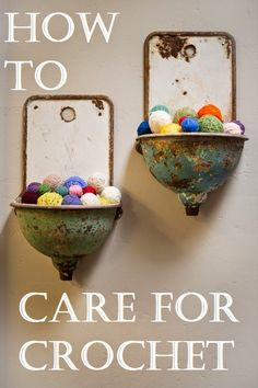 How to Care for Crochet
