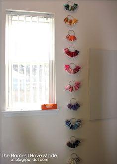 creative ribbon storage solution