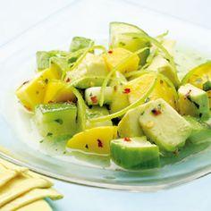 Tropical Cucumber Salad Recipe