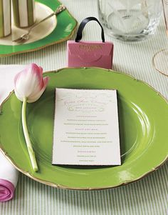 Spring Tulip Table Setting