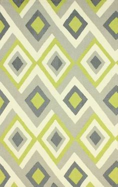 For the guest bedroom? Rugs USA Radiante BC62 Green Rug