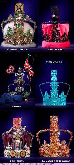 Diamond Jubilee Crowns