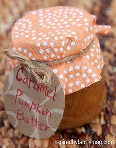 caramel pumpkin butter crock pot{family time activity} great for gift giving