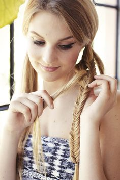3 gorgeous hairstyles to try — with a twist! (Photos by Aeschlea DeMartino)