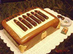 cigar cake by tesorocookies, via Flickr