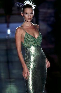 missi moss, fashion, gown, moss magic, kate moss