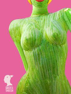 Dan Cretu's food sculpture
